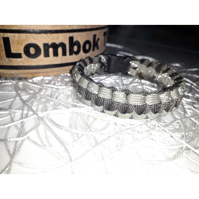 Gelang Paracord Cobra Knot    Gutted Strand