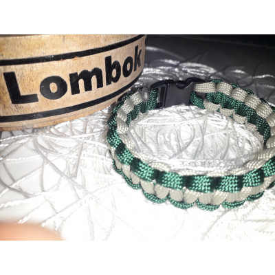 Gelang Paracord Cobra Knot    Gutted Strand 2 Colour